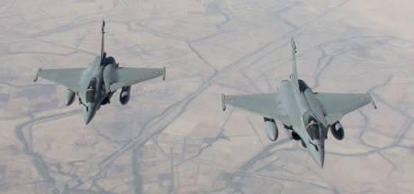 Eerste Franse bombardementen op IS