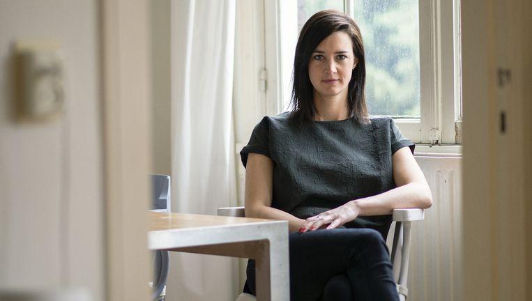 Yora Rienstra: 'Ik wil graag als allereerste vrouw de Top 2000 presenteren.' Beeld Lukas Göbel