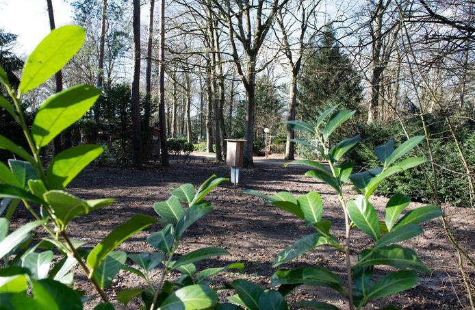 De Stichting Gaandeweg bouwt op vakantiepark het Grote Bos in Doorn een vakantiewoning voor gezinnen met kinderen die kanker hebben.