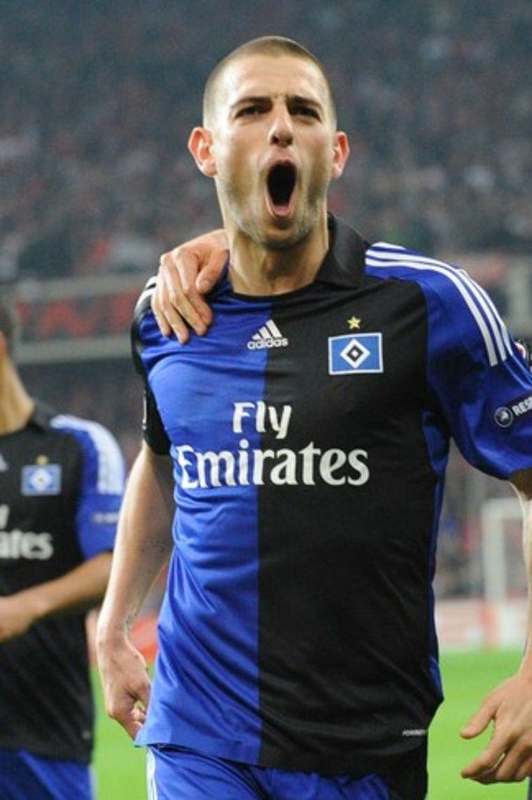 Mladen Petric sloeg Standard met twee goals knock-out. Beeld UNKNOWN