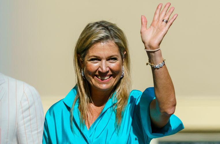 Koningin Máxima Beeld Getty Images