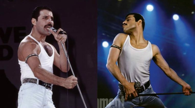 Rami Malek is perfect gecast als Freddie Mercury.