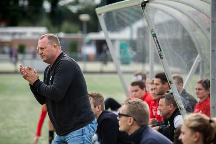 Wouter Blok, de nieuwe trainer van DSC.