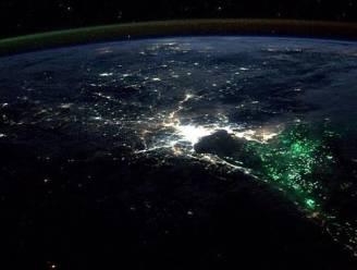 Astronaut breekt zich het hoofd over 'mysterieus' groen licht voor kust van Thailand
