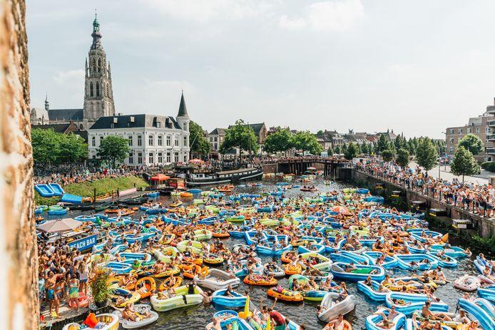 Het was druk in het stadswater van Breda. En misschien wordt het nog drukker.