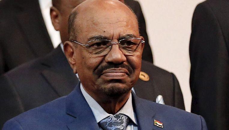 De Soedanese president Omar al-Bashir. Beeld reuters