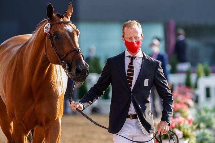 Niels Bruynseels en zijn paard Delux.