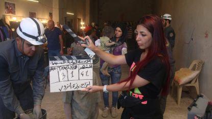 """""""Beelden van vergaste Syrische kinderen in scene gezet"""""""