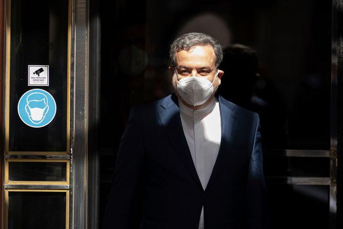De Iraanse hoofdonderhandelaar Abbas Araghchi.