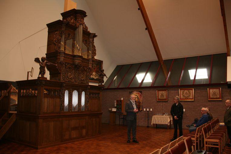 Het gerestaureerde Bremserorgel is het pronkstuk van de Sint-Laurentiuskerk.