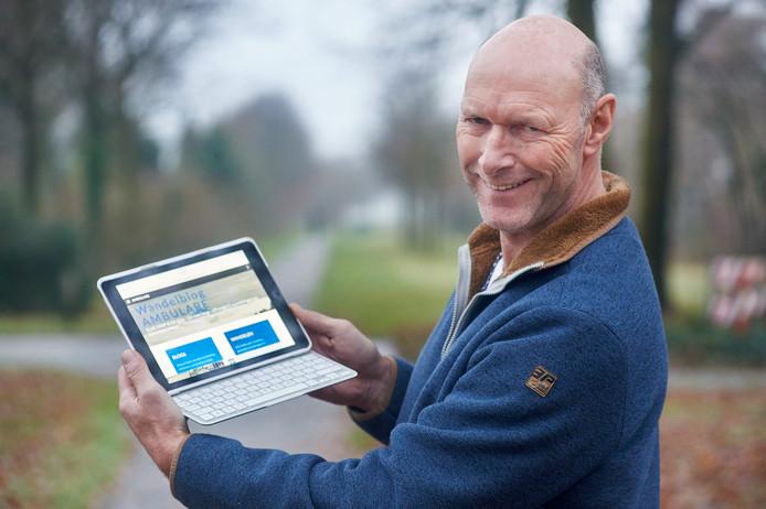 Wandelliefhebber Henrie van Zoggel uit Uden houdt een wandelblog bij.