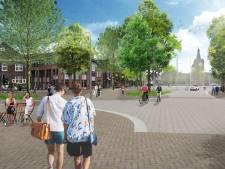 Streep door doorgaand verkeer centrum Valkenswaard; opknapbeurt Markt start volgende week