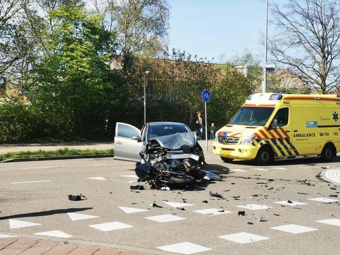 Het ongeluk in Nijmegen.