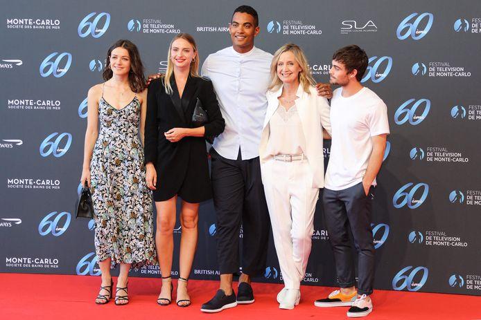 Julie Sassoust, Aurelie Pons, Terence Telle, Catherine Marchal et Clement Remiens.
