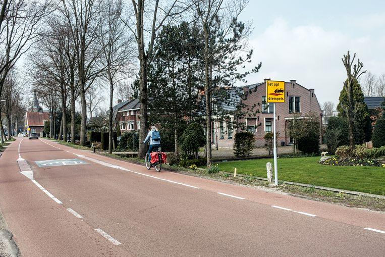 Sloterweg (tussen de Anderlechtlaan en Ditlaar) in Nieuw-West. Beeld Jakob van Vliet