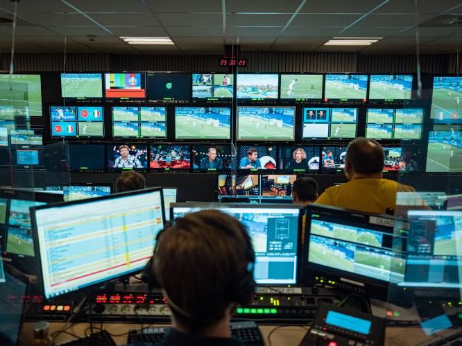 """Achter bij schermen bij het EK Voetbal op tv: """"Ook in de regie juichen we als de Rode Duivels scoren"""""""