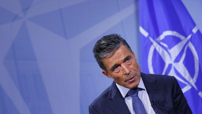 Anders Fogh Rasmussen, secrétaire général de l'Otan