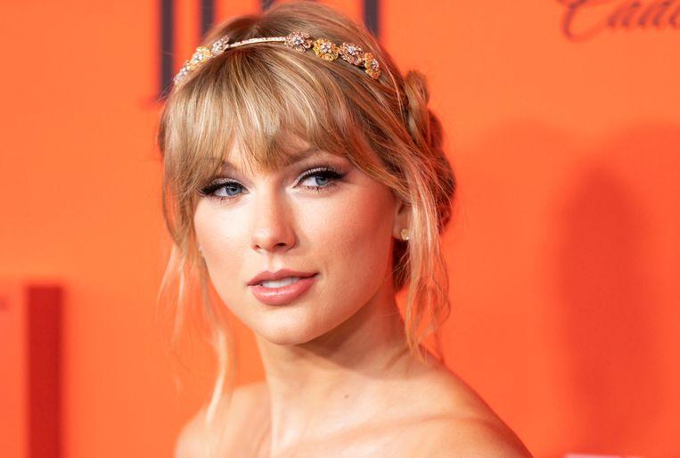 Amerikaanse zangeres Taylor Swift.  Beeld EPA