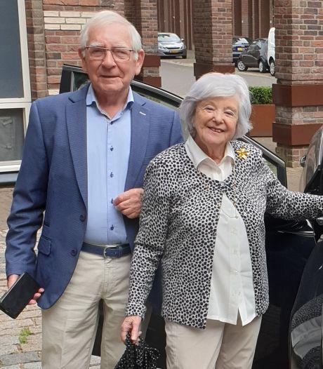 Michel en Wil van Geel zijn 60 jaar getrouwd