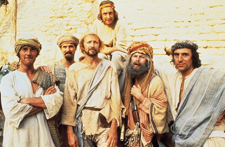 Uit Monty Pythons Life of Brian. Beeld UNKNOWN