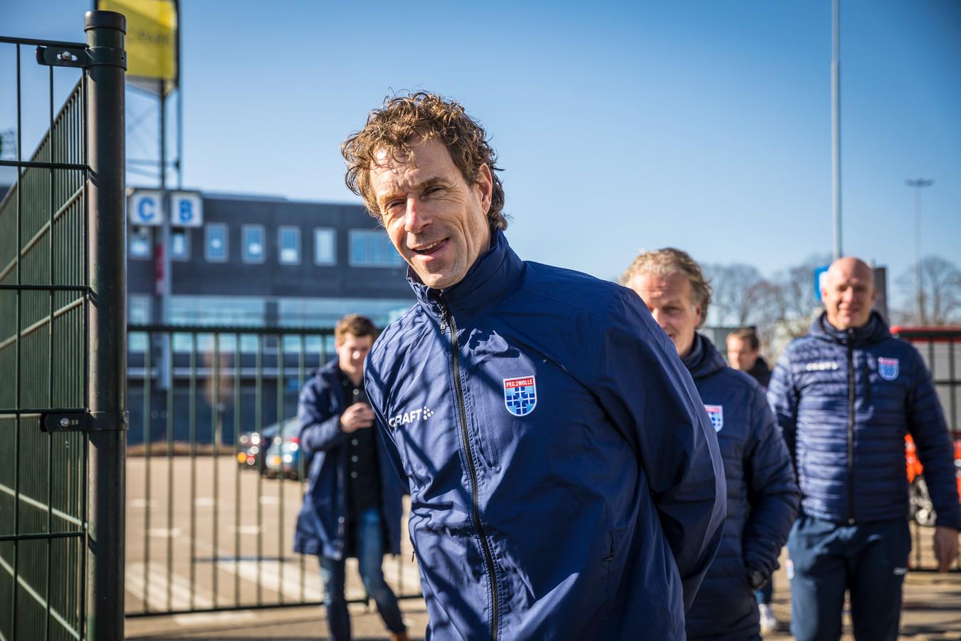 Bert Konterman is de nieuwe trainer van PEC Zwolle.