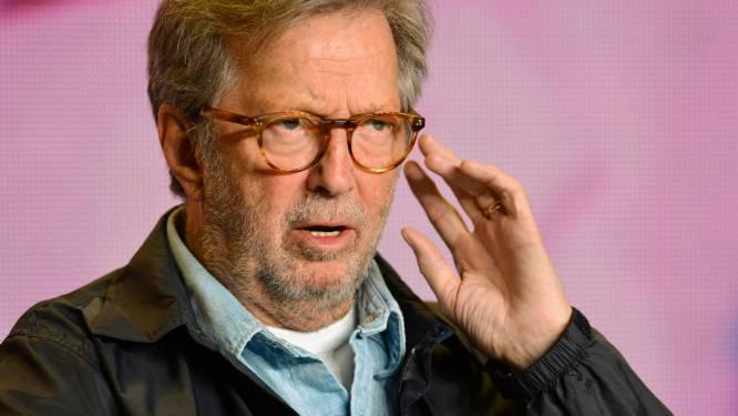 """Eric Clapton reageerde slecht op coronavaccin: """"Ik had nooit in de buurt van die naald mogen komen"""""""