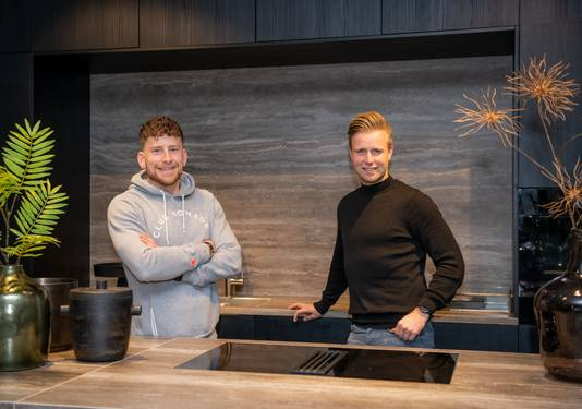 Initiatiefnemers Steffan Oerlemans van Cookaholics en Nick Klaassen.
