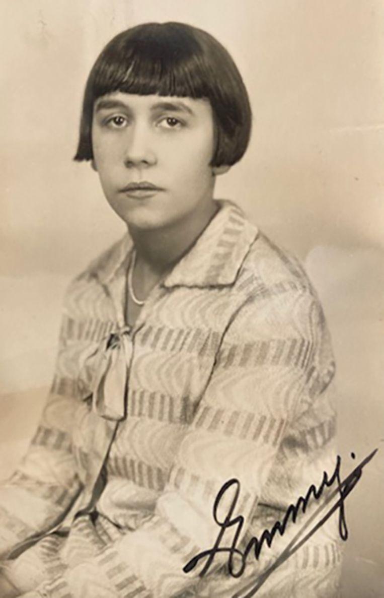 Binnerts' moeder Emmy. Beeld privéarchief Binnerts