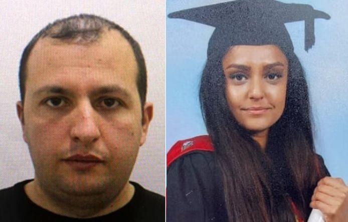 Koci Selamaj (links) wordt verdacht van de moord op Sabina Nessa
