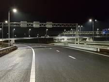 A50 tussen Oss en Veghel nacht afgesloten