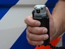 Lachgaskoeriers met pepperspray tot bedaren gebracht in Kapelle
