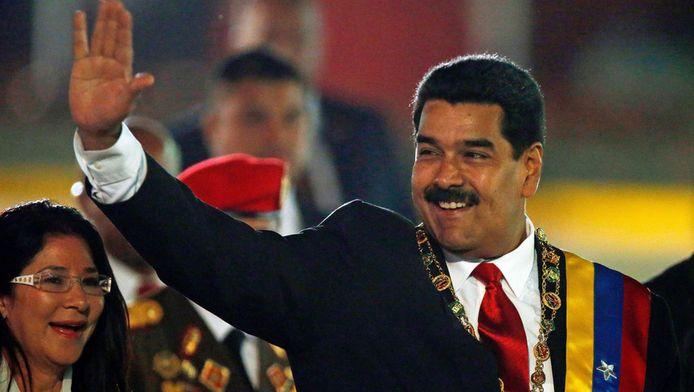 De Venezuelaanse president Nicolas Maduro.