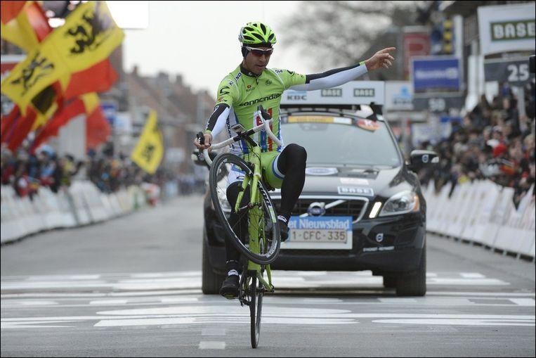 Sagan kwam solo over de streep. Beeld PHOTO_NEWS