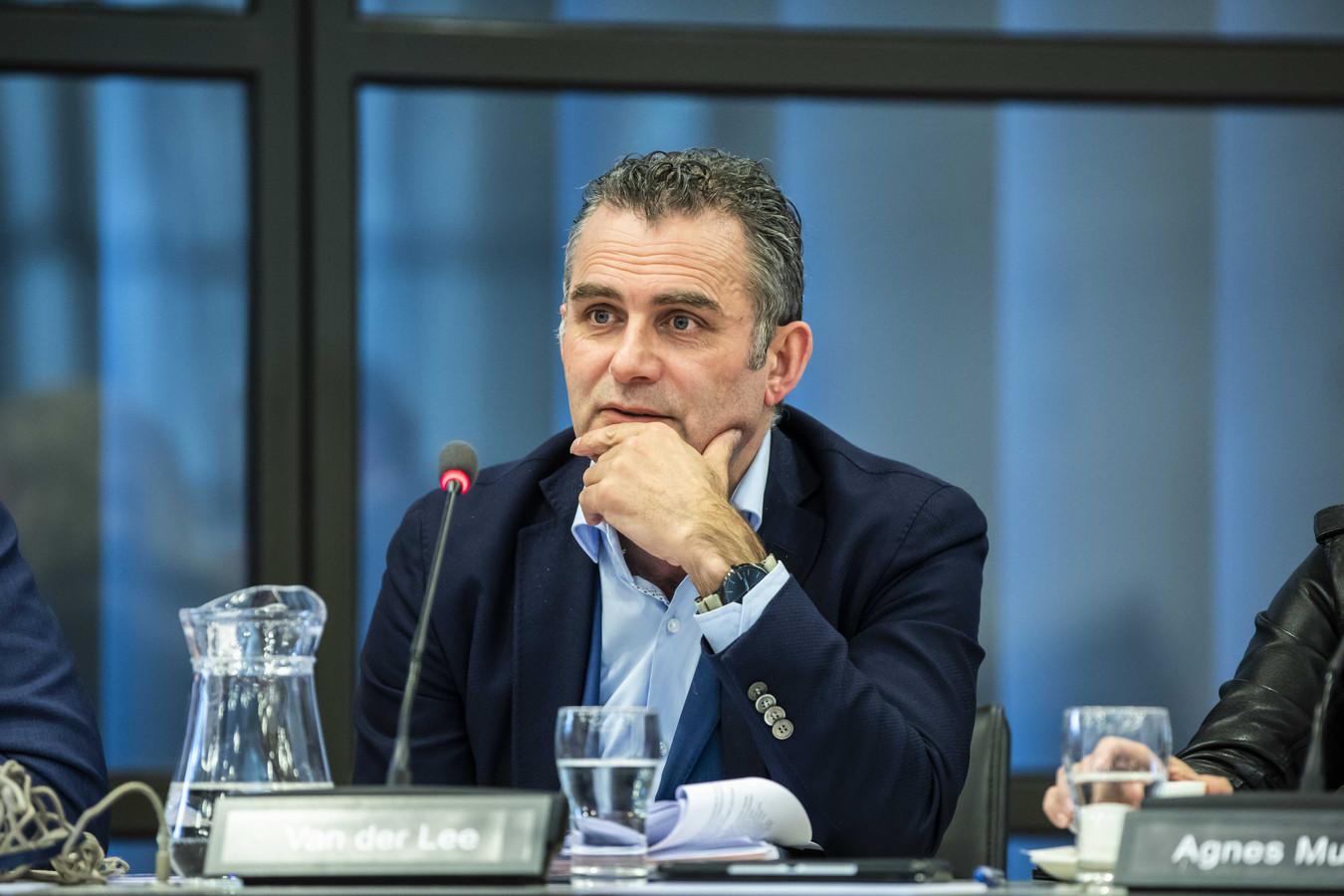 Tom van der Lee vorig jaar tijdens een hoorzitting over het Klimaatakkoord met de vaste Kamercommissie van Economische Zaken en Klimaat.
