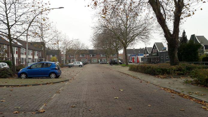 De Marktstraat in 's-Heerenhoek