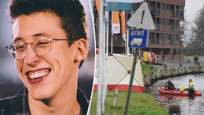 Frederik Vanclooster (21) verdween afgelopen oudejaarsnacht tijdens een nieuwjaarsfeestje in De Kruitfabriek in Vilvoorde.