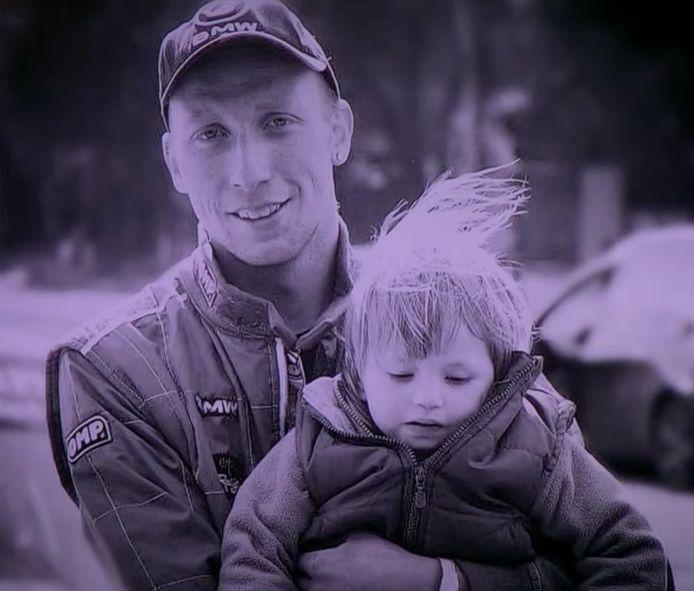 Hailey en haar papa.