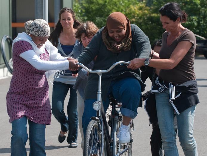 Een voorbeeld van een vergelijkbaar fietsproject elders in het land.
