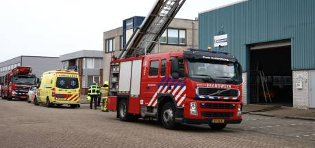 Drie gewonden door brand bij bandenbedrijf in Culemborg