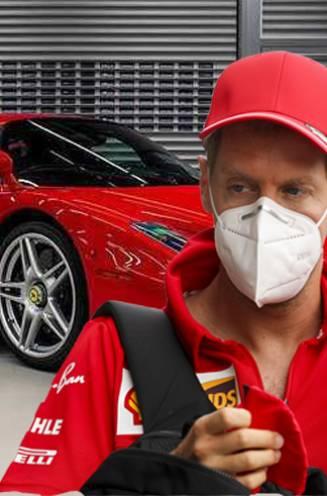 Plots verkoopt Sebastian Vettel meerdere luxebolides, waaronder vijf Ferrari's (en uiteraard leidt dat tot speculaties)