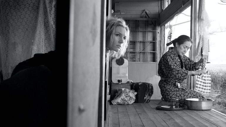 Rosalie Thomass in Fukushima mon amour van Doris Dörrie. Beeld