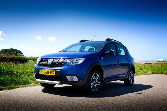 De Dacia Sandero Stepway is geschikt voor zowel benzine als autogas (lpg).