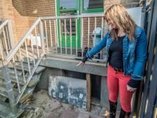 Invasie van ratten door verzakking in tuin: 'Hele families baanden zich een weg naar buiten'
