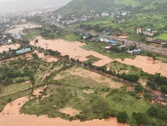Hevige moessonregens in India eisen dertigtal levens