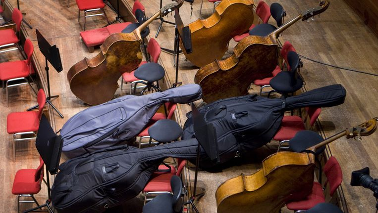 Het Concertgebouw in Amsterdam tijdens een repetitie van het Concertgebouworkest. © ANP Beeld