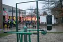 De school gaat de opbrengst gebruiken om de speelplaats verder in te richten, om er een plaats van te maken waar iedereen zich goed voelt.