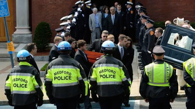 Eerste slachtoffer Boston begraven