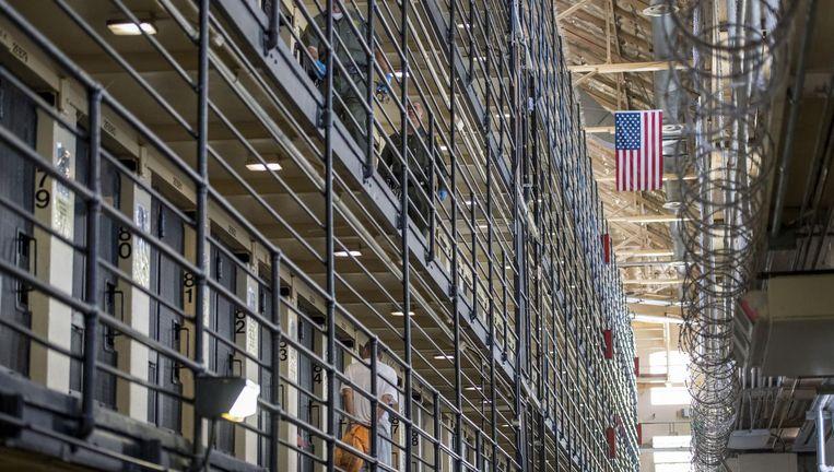 De San Quentin State Prison waar Singh gevangen zit. Beeld getty