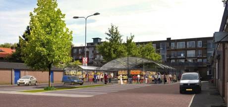 Mogelijk een vershal aan achterzijde van winkelstrip Boschveld in Den Bosch