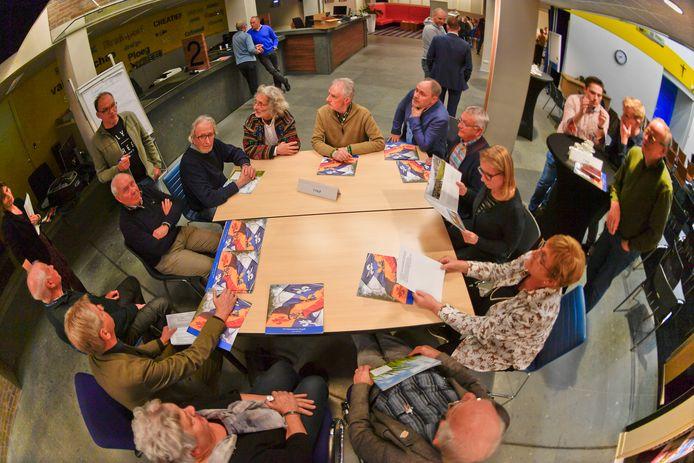 Inwoners van de kernen van Bergeijk kwamen in januari bijeen om plannen te maken.